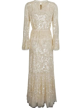 Needles Long-length Sequined Dress
