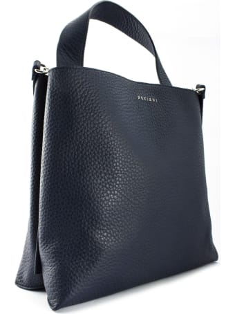 Orciani Navy Jackie Shoulder Bag