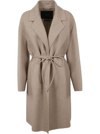 Max Mara Atelier Rope-tied Coat