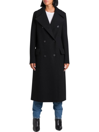 Harris Wharf London Long Militaryu Coat