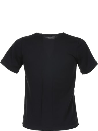 Paolo Pecora T-shirt In Black Cotton