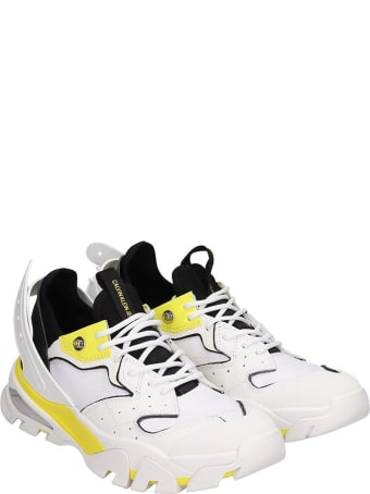 Calvin Klein Jeans Calador Sneakers In White Synthetic Fibers