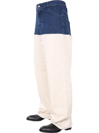 Raf Simons Horizontal Jeans