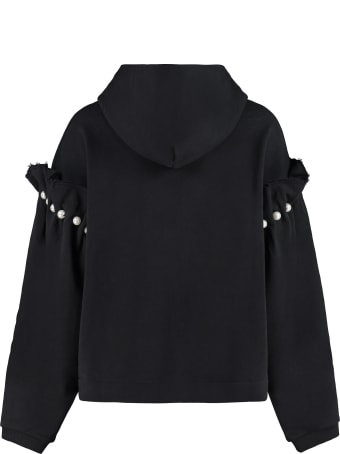 Mother Of Pearl Eliza Cropped Hoodie