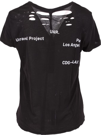 Ben Taverniti Unravel Project Unravel Project Cotton T-shirt