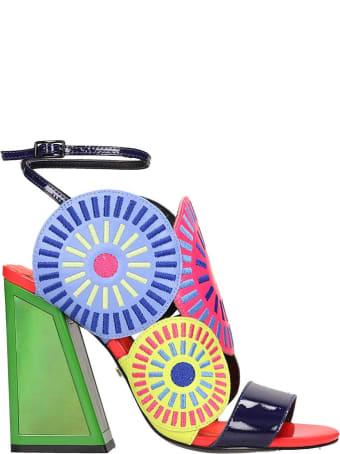 Kat Maconie Frida Sandals In Multicolor Tech/synthetic