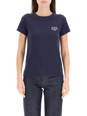 A.P.C. Denise T-shirt With Logo Embroidery