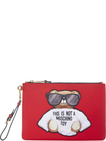 Moschino Teddy Clutch