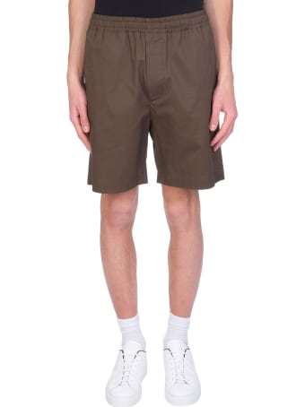 Mauro Gasperi Shorts In Green Cotton