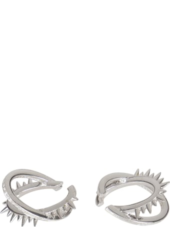 Alan Crocetti Spiked Rings