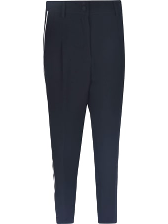 N.21 Piping Contrast Trousers