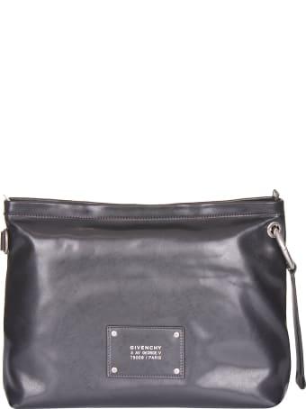 Givenchy Logo Patch Messenger Bag