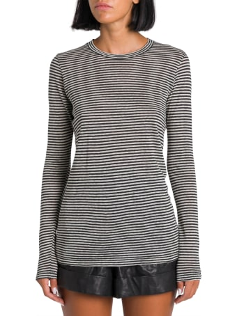 Isabel Marant Étoile Kaaron Striped Long Sleeve Tee