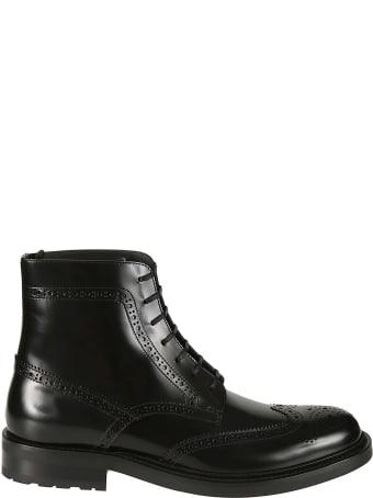 Saint Laurent Army Lace-up Boots