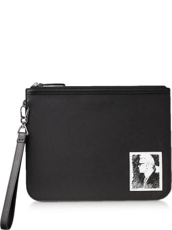 Karl Lagerfeld Karl Legend Luxury Clutch