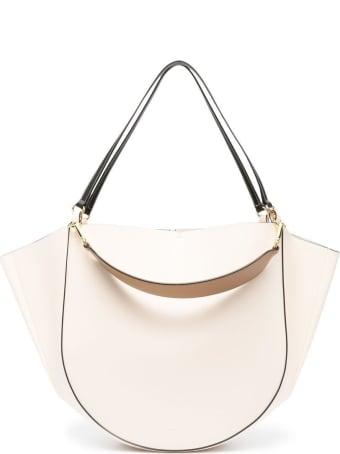 Wandler Mia Large Leather Tote Handbag