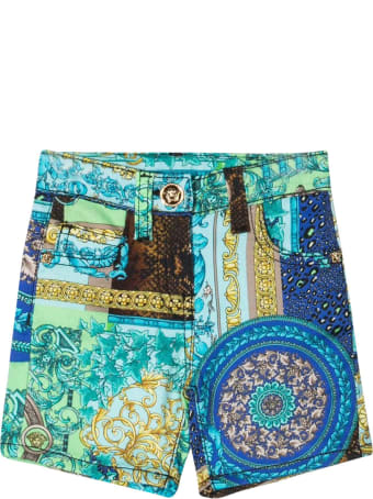 Young Versace Bermuda Blu