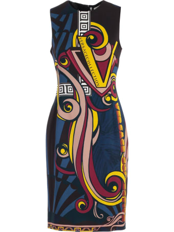Versace Collection Dress W/s Pencil Comics Fantasy