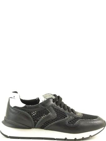 Voile Blanche Black Mesh Women's Sneakers