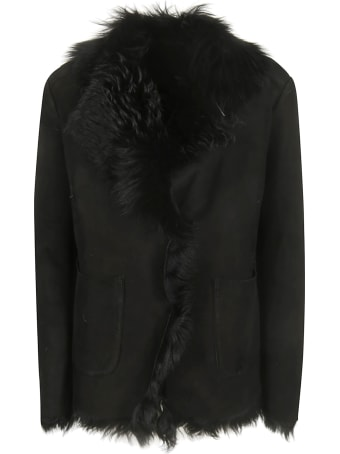 Salvatore Santoro Fur Detail Fringed Jacket