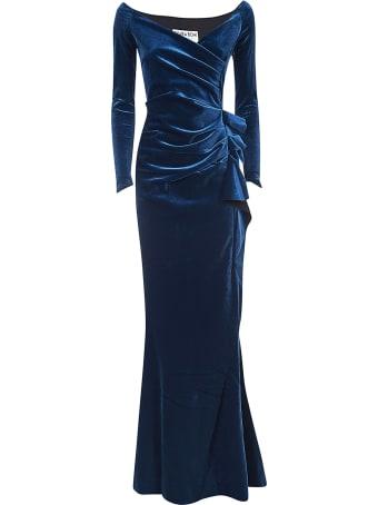 La Petit Robe Di Chiara Boni Draped Long Dress