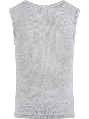 La Perla Grey Tank Top For Boy
