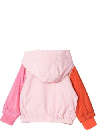 Stella McCartney Kids Pink Lightweight Jacket With Print