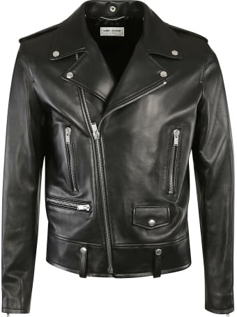 Saint Laurent Classic Multi-zipped Biker Jacket