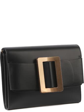 BOYY Buckle Travel Case Shoulder Bag In Leather