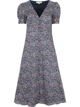 MICHAEL Michael Kors Patterned Cotton Dress