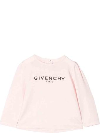 Givenchy Pink Newborn Sweater