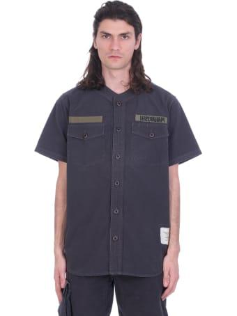 Maharishi Shirt In Black Cotton