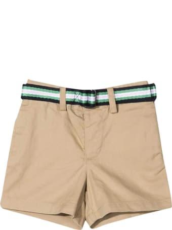 Ralph Lauren Kaki Shorts With Belt