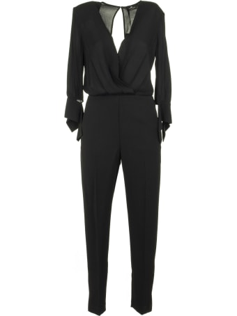 Elisabetta Franchi Celyn B. Jumpsuit With Slits On The Sleeves