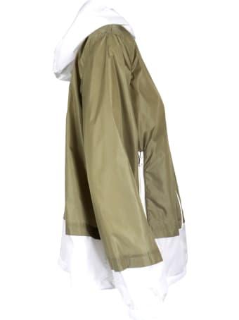 Fay Windbreaker Bicolor Jacket