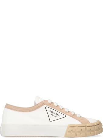 Prada Canvas Sneakers