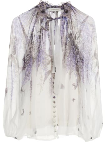 Zimmermann 'liminous Lantern' Blouse