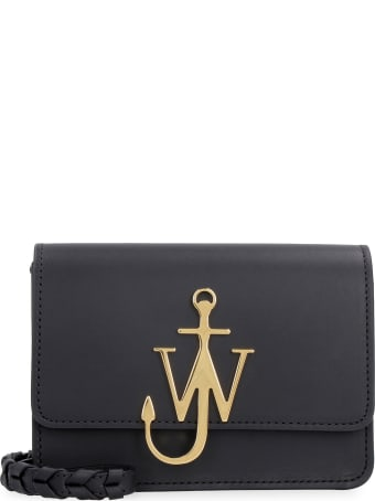 J.W. Anderson Anchor Logo Leather Crossbody Bag