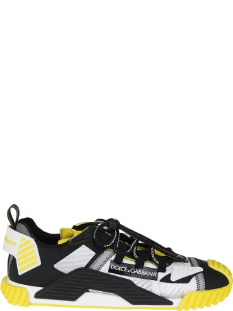 Dolce & Gabbana Multicolor Canvas Sneakers