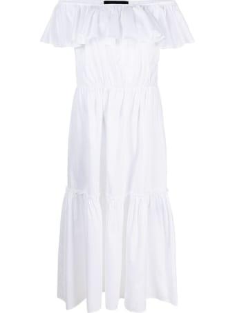 Federica Tosi White Cotton Poplin Dress