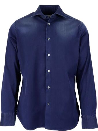 Guglielminotti 90% Cotton 5% Polyester 5% Elastane Shirt