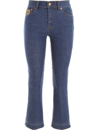Tory Burch Jeans With Patches