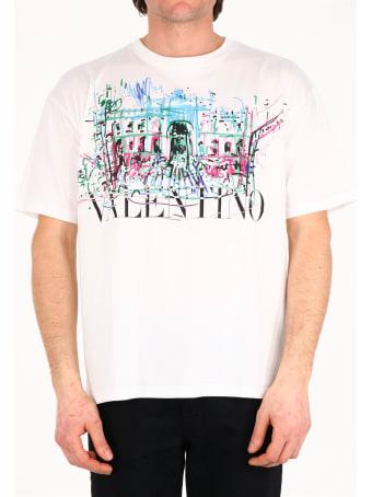 Valentino T-shirt Roman Sketches