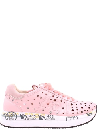 Premiata Conny 4727 Leather Sneakers
