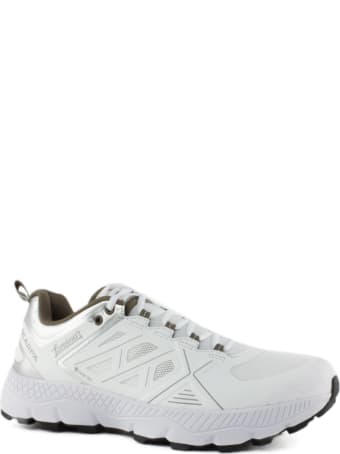 Herno White Technical Textile Sneakers