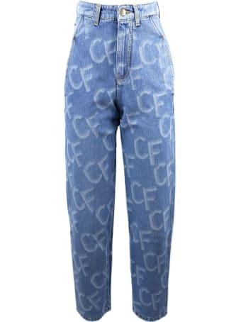 Chiara Ferragni Light Blue Denim Jeans