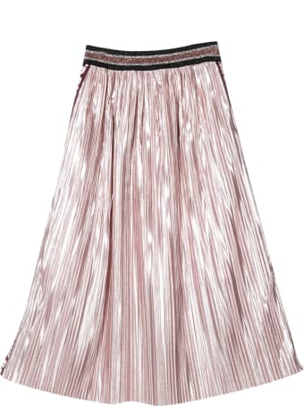Richmond Pleated Skirt With Side Logo