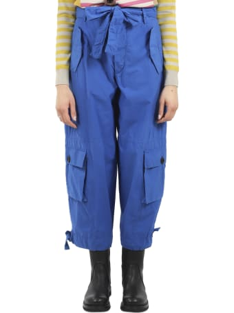 Colville Blue Pocket Trousers
