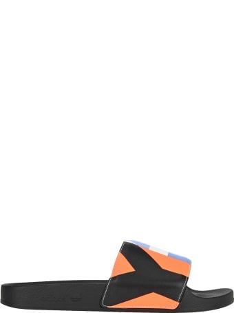 Y-3 Adidas Y3 Adilette Printed Sliders