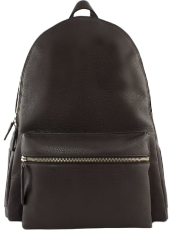 Orciani Micron Deep Brown Backpack